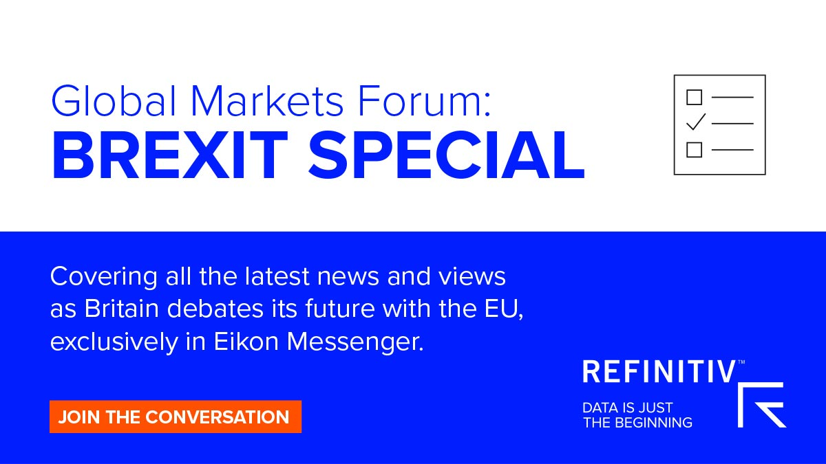 Global Markets Forum: Brexit Special. Brexit Day: The best financial markets coverage is on GMF