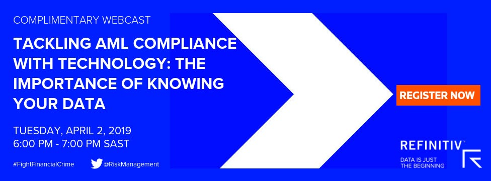Tackling AML compliance with technology. 2 April 6pm-7pm. Financial crime and the digital ID revolution