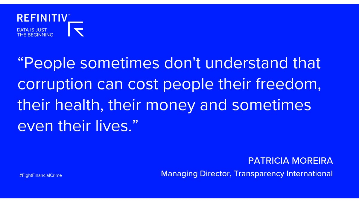 Patrician Moreira Quote. Financial crime and the digital ID revolution
