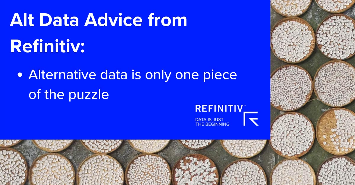 Mapping the potential of geospatial data | Refinitiv