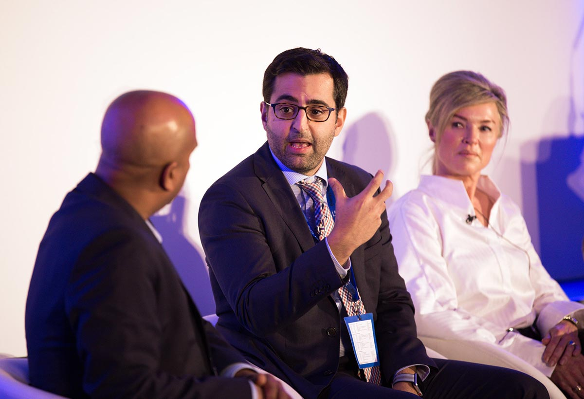 Reza Haidari at Energy Interactive 2018 London