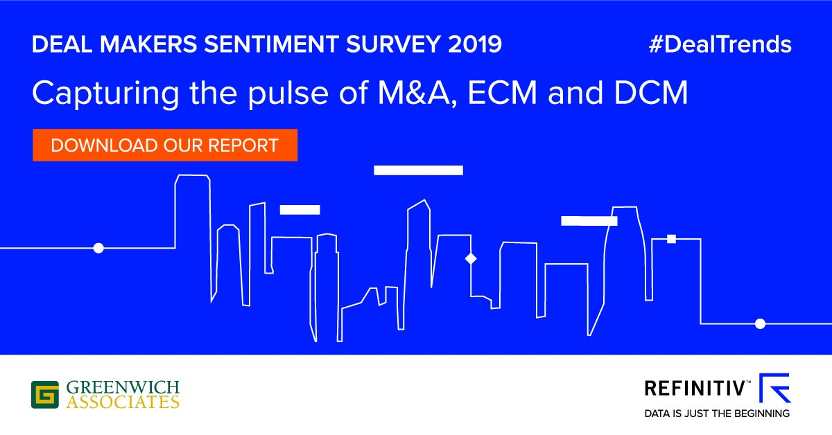Refinitiv's Deal Makers Sentiment Survey
