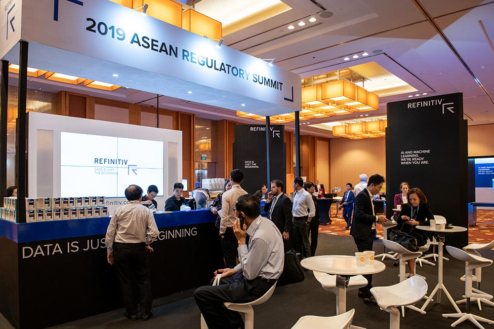 Set up during 2019 ASEAN Regulatory Summit in Marina Bay Sands Convention Center, Singapore, Singapore, on 8 May 2019. Photo by Lucas Schifres/Studio EAST. Seven trends transforming regulation in ASEAN