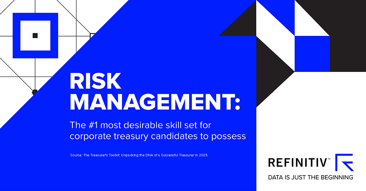 Risk management. The tools and skills every corporate treasurer needs