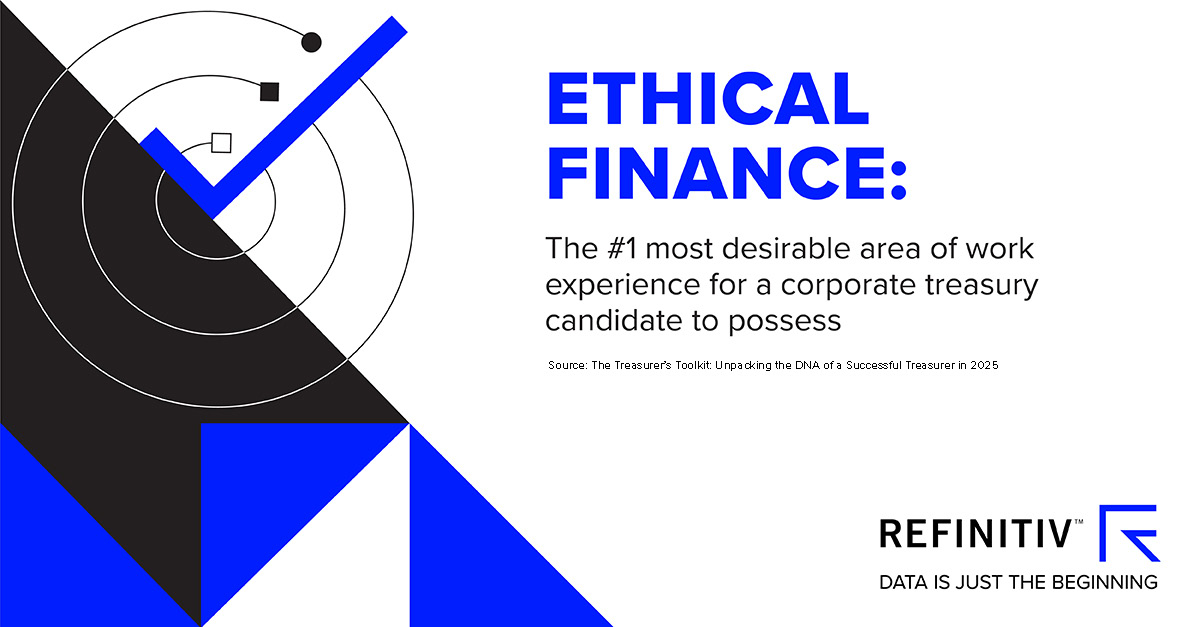 Ethical finance. The tools and skills every corporate treasurer needs