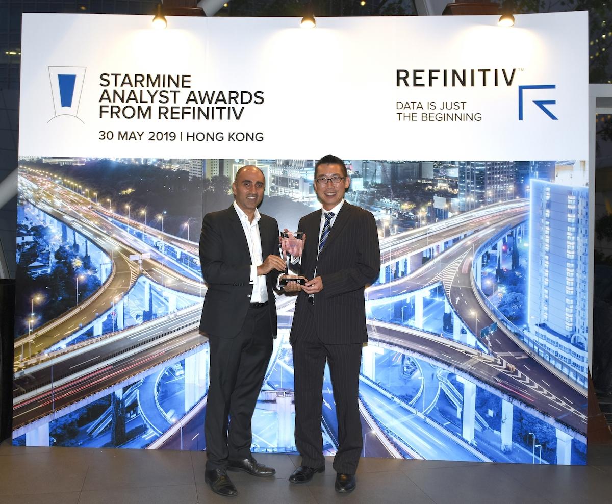 Deutsche Bank Research won No. 1 Broker for Asia and Hong Kong & China Region