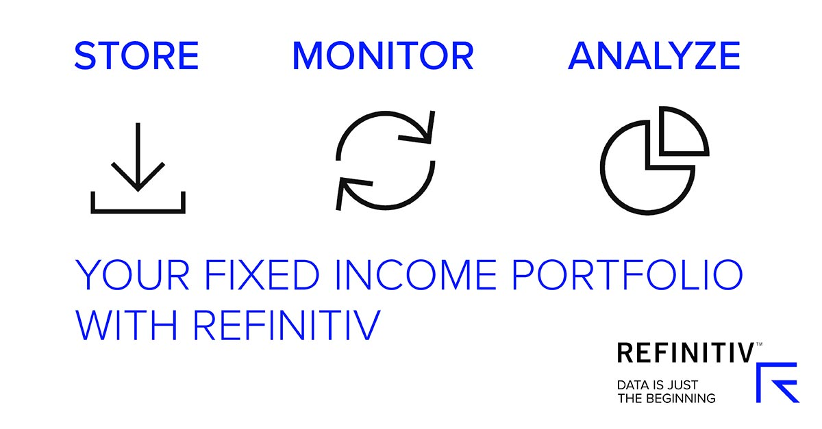 Your fixed income portfolio with Refinitiv