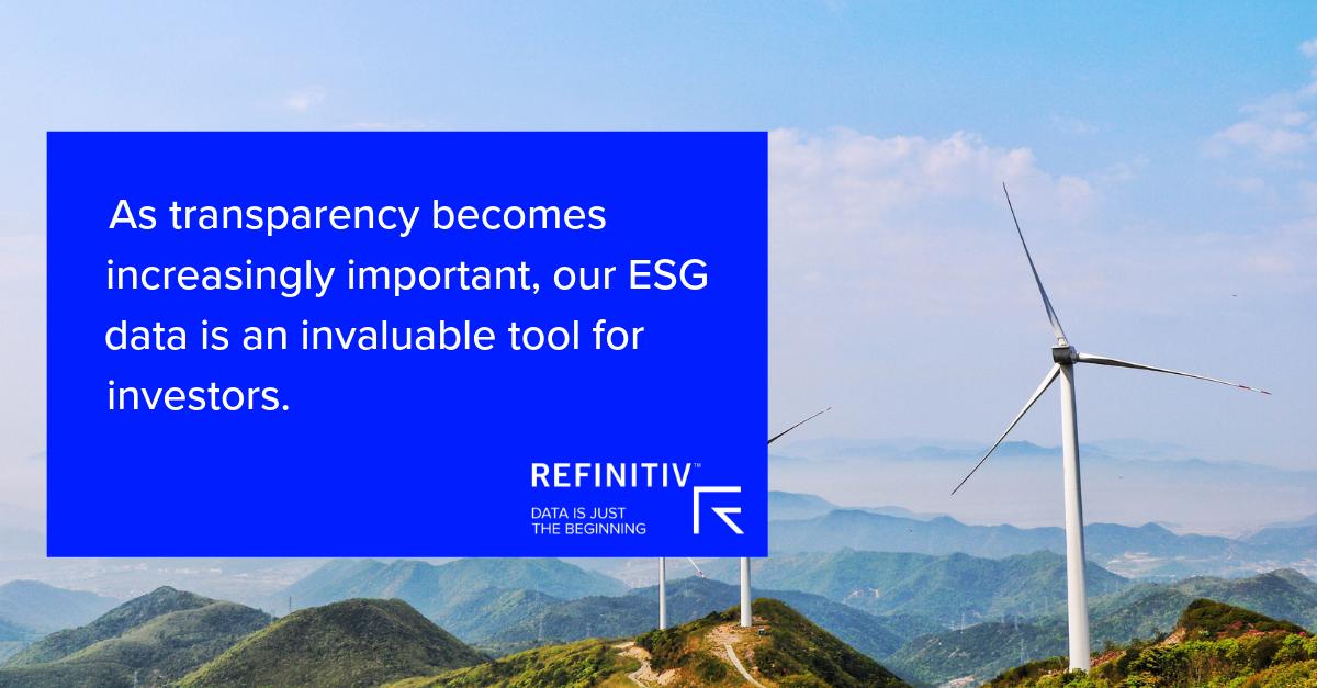 Refinitiv ESG Data