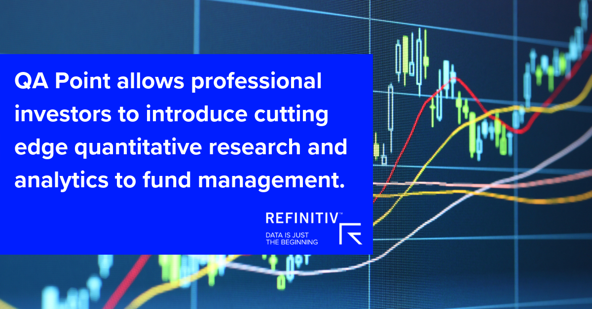 QA Point allows professional investors to introduce cutting edge quantitative research and analytics to fund management.