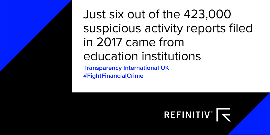 Transparency International UK Quote. School fees and the money laundering risk