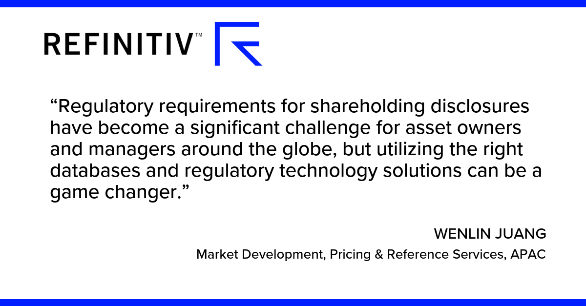Regulatory requirements for shareholding disclosures