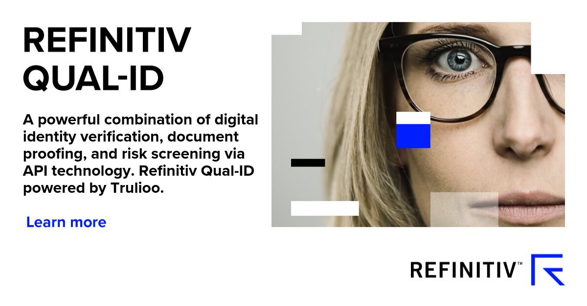 Refinitiv Qual-ID Digital Identity Verification