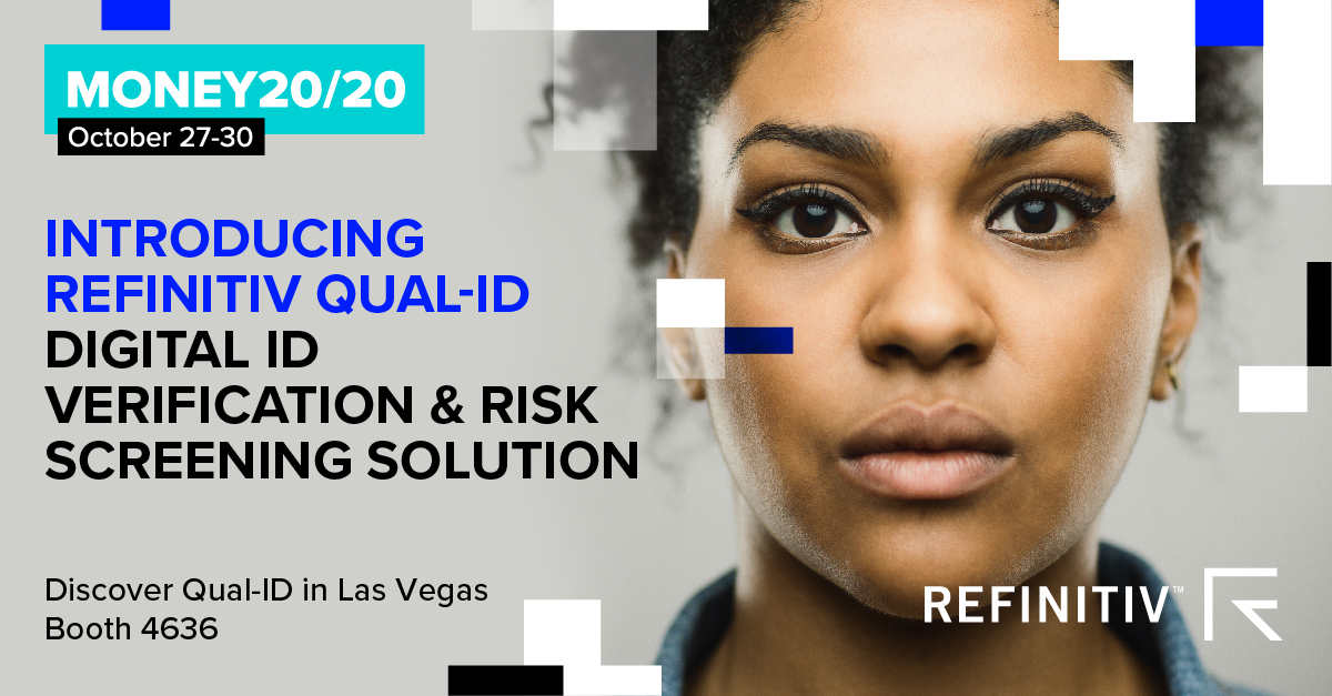 Money 20/20 - Digital ID Verification & Risk Screening Solution Promotional Banner