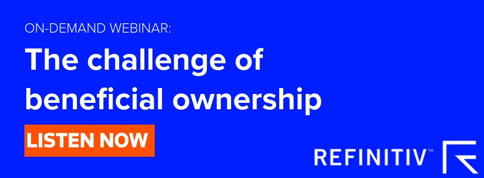 Listen to the full webinar: The Challenge of Beneficial Ownership. Understanding beneficial ownership challenges