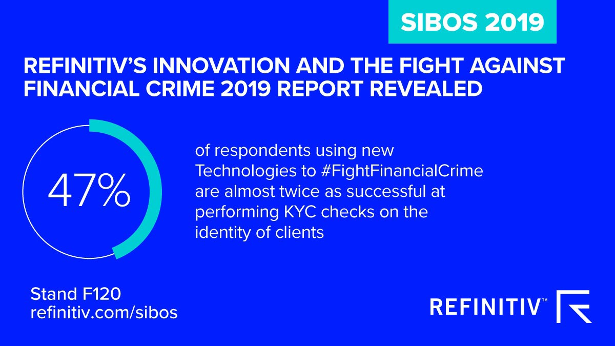 Financial crime report 2019. Connect with Refinitiv at Sibos 2019