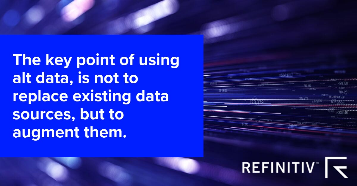 Quote image. Which alternative dataset is right for you?