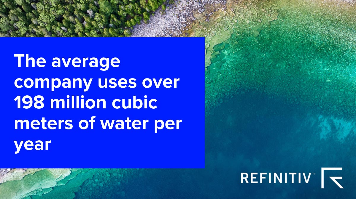 Quote. Water management: Every drop of data counts.