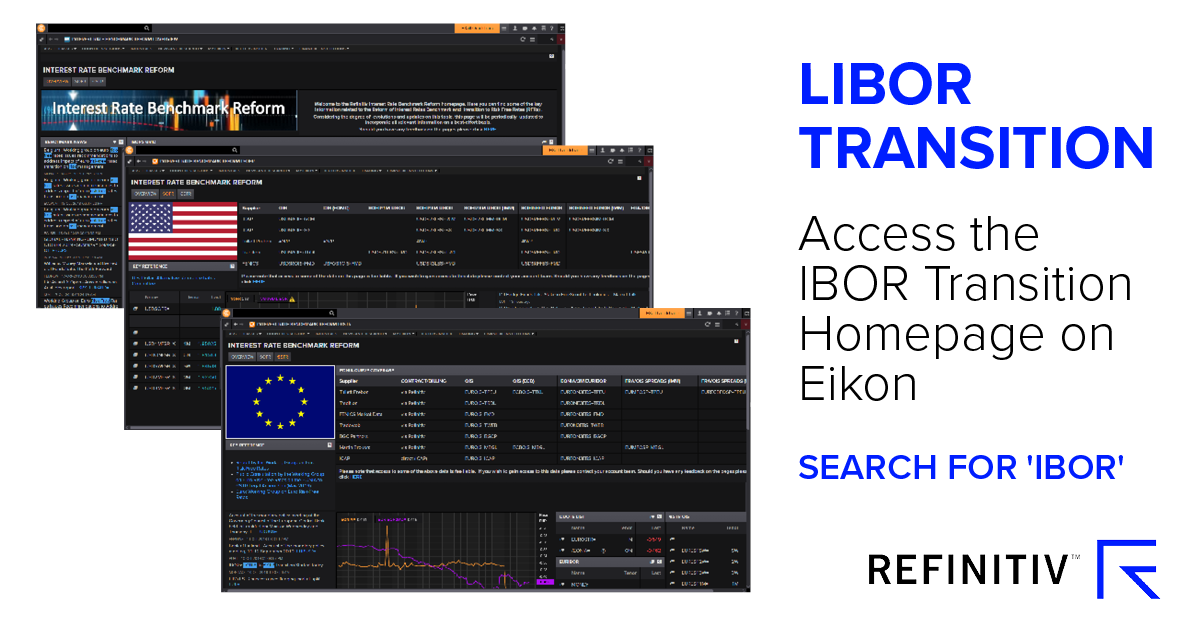 Access the IBOR Transition Homepage on Eikon
