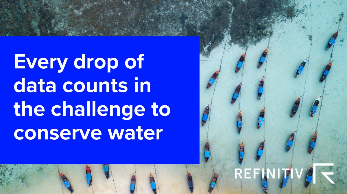 Water management: Every drop of data counts