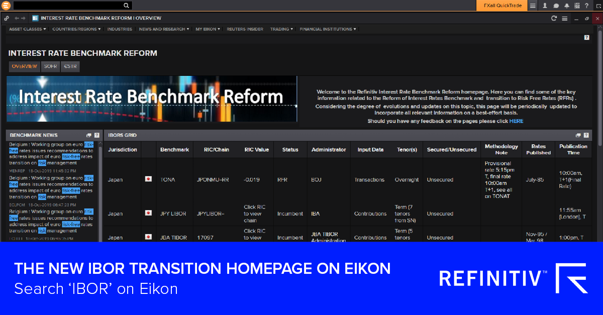 Eikon The LIBOR transition: What you need to know