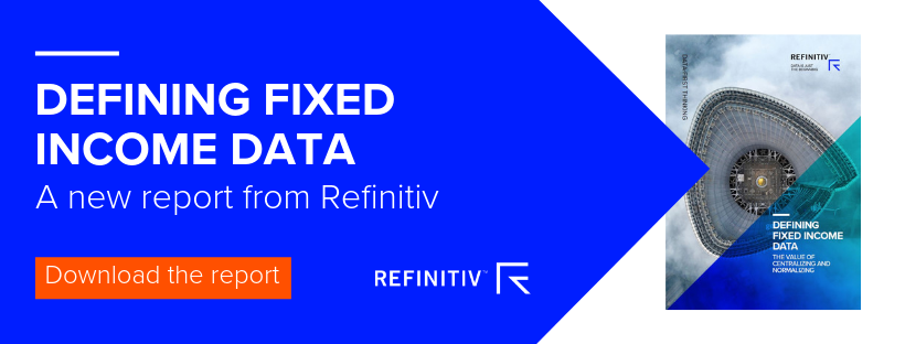 Defining fixed income data