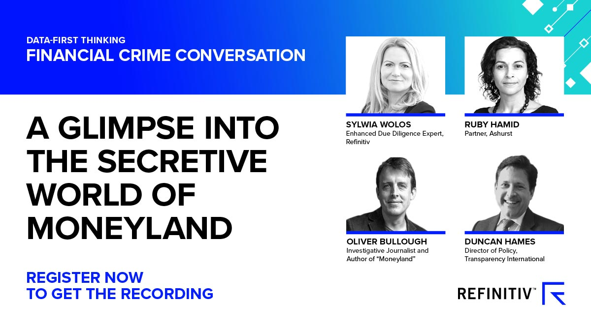 A glimpse into the secretive world of Moneyland recording. How we're fighting financial crime in 2020