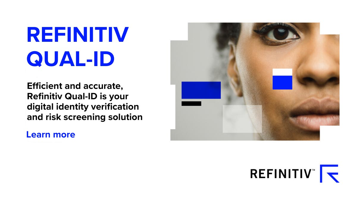 Refinitiv Qual-ID lookbook. How we're fighting financial crime in 2020