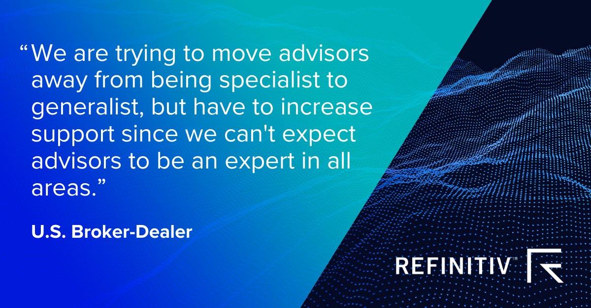 U.S broker-dealer comment. Digitalization is disrupting wealth management