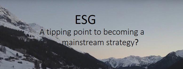 Data trends for active portfolio management. ESG