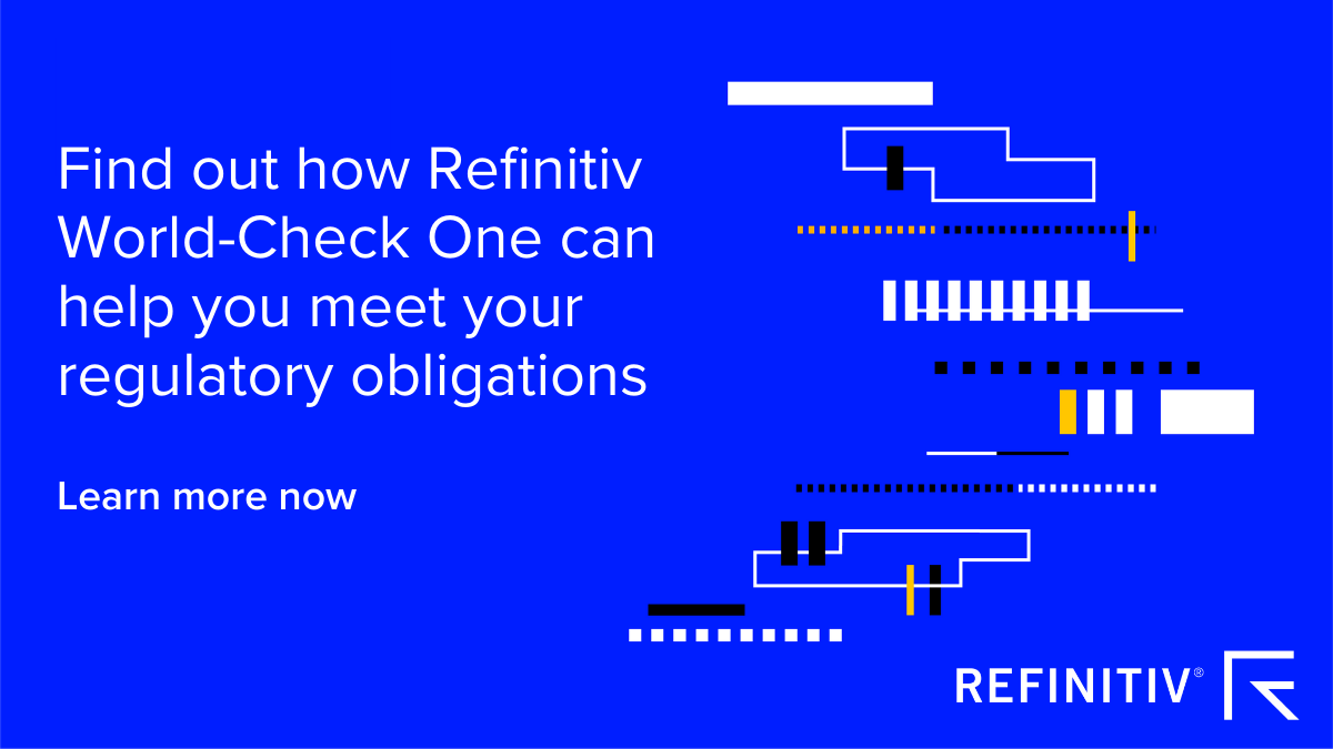 Find out how Refinitiv World-Check One can help you meet your regulatory obligations