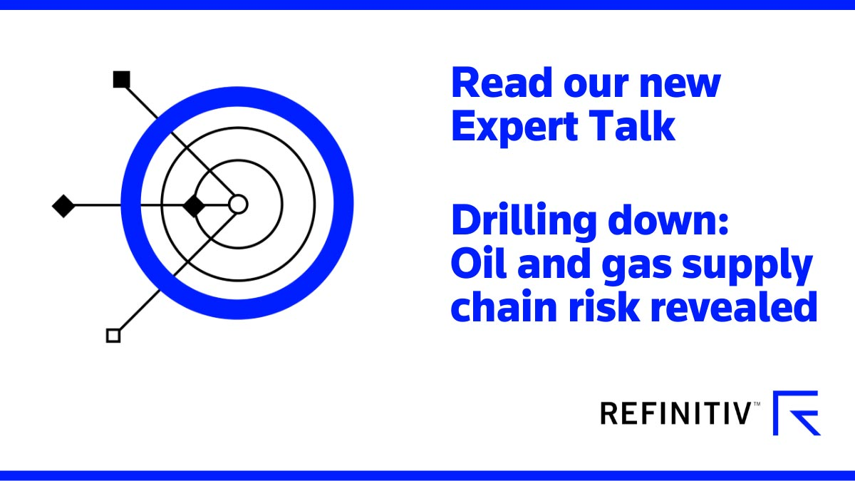 Read our expert talk. Pinpointing oil and gas sector risks
