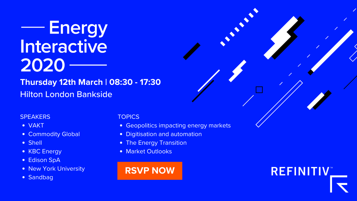 Energy Interactive 2020 Topics & Speakers Promotional Visual
