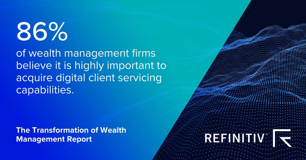 Transformation of Wealth Management Report. COVID-19: Critical tools for wealth managers