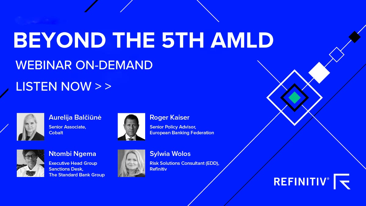 AML regulation: Beyond the 5th AMLD webinar