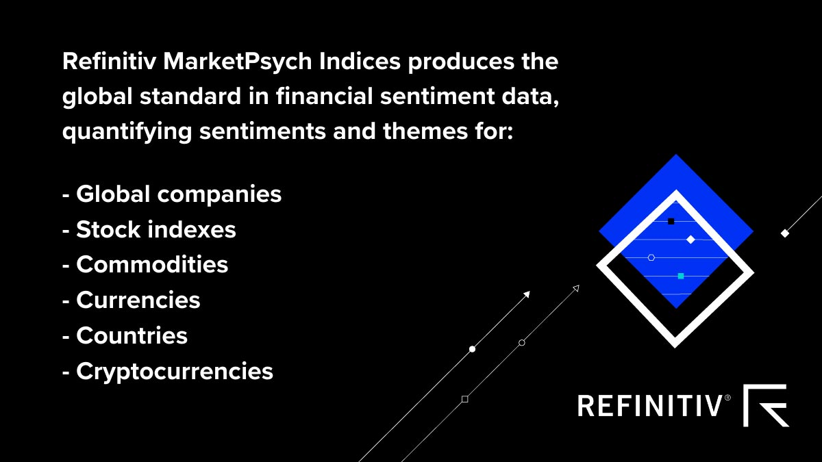 Refinitiv MarketPsych.COVID-19: Critical tools for wealth managers
