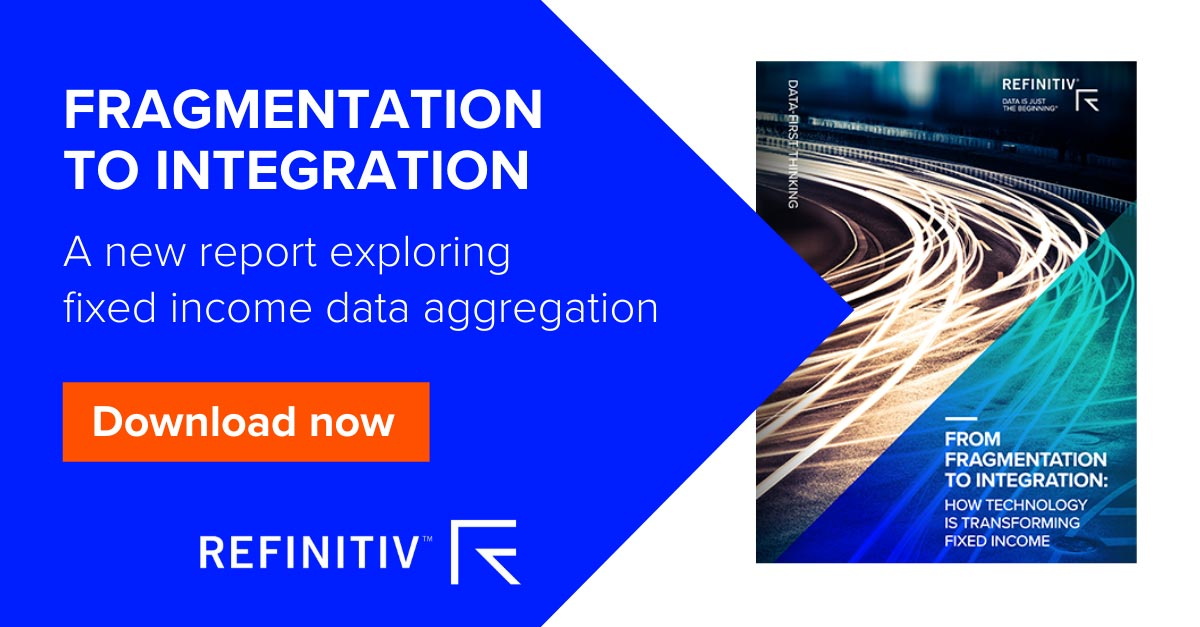 Fragmentation to integration Report. How can technology help fixed income traders capitalize on better data?