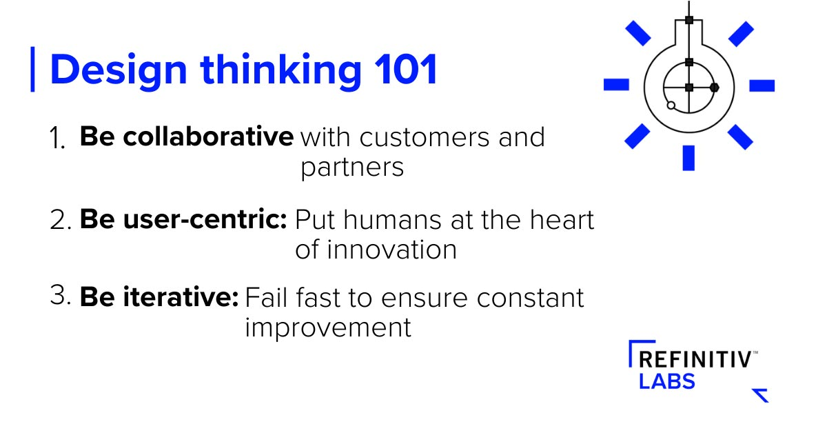 Design thinking 101. Design thinking and solving data problems