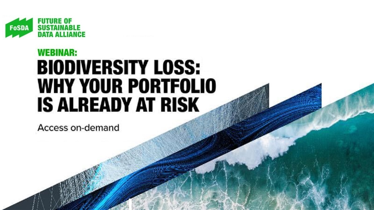 Biodiversity loss: Why your portfolio is already at risk. Biodiversity loss and financial risk