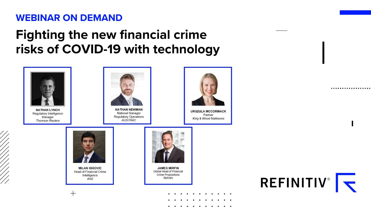 Listen to 'Fighting the new financial crime risks of COVID-19 with technology' How could COVID-19 transform digital ID?