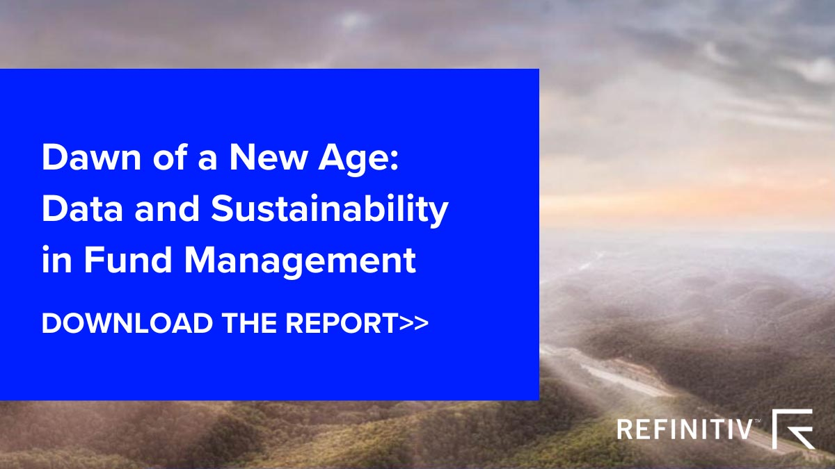 Download the Report — Dawn of a new age: Data and sustainability in fund management