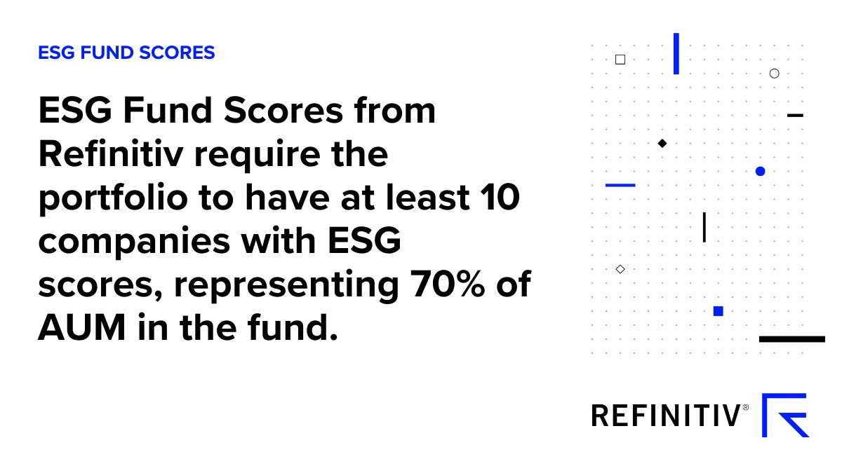 ESG Fund Scores description. Using ESG fund scores for sustainable investing