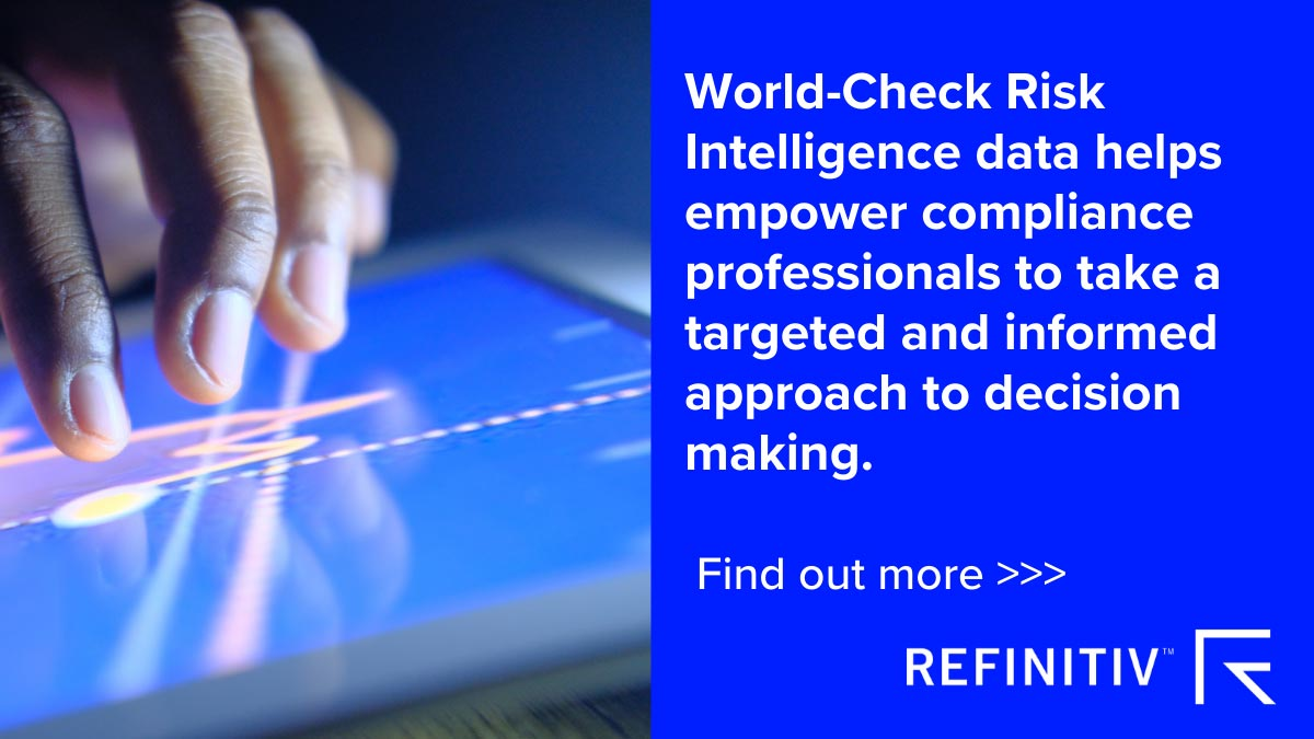Refinitiv World-Check Risk Intelligence. How the right partnerships help fight financial crime