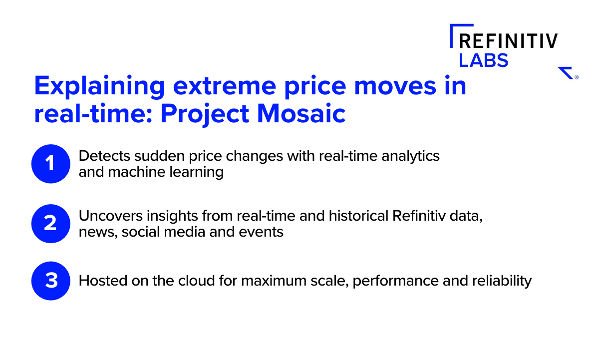 Explaining extreme price moves in real-time
